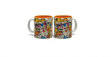 90's Cartoon Collage Nickelodeon Mug