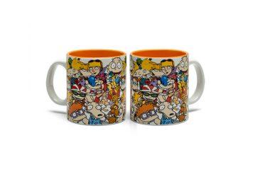 90's Cartoon Collage Nickelodeon Mug