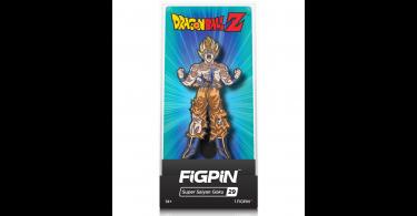 Super Saiyan Goku Enamel Pin, with display case, by FiGPiN