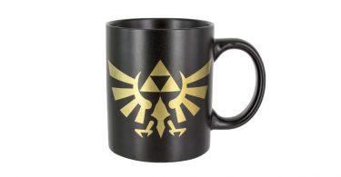 Legend of Zelda Coffee Mug, Picturing Hyrule Crest