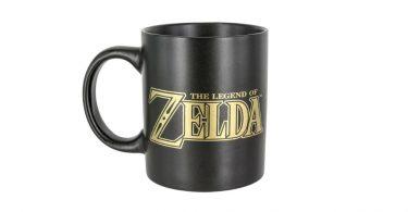 """""""The Legend of Zelda"""" written on Hyrule Mug"""