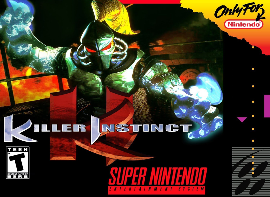 Killer Instinct SNES Box Art