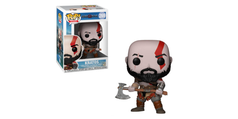 New Kratos God of War PS4 Vinyl Doll - Funko Pop
