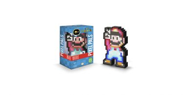 PDP Pixel Pals Lighted Mario Figure In Box