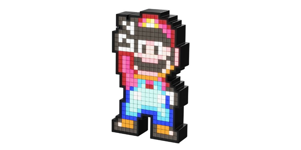 PDP Pixel Pals Lighted Mario FIgure Offset