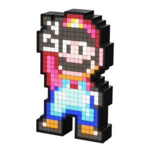 PDP Pixel Pals Lighted Mario FIgure Offset