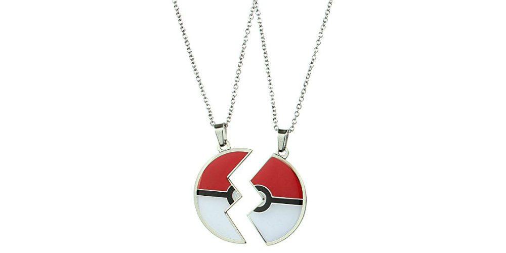 Geeky Friendship Necklaces Pokémon