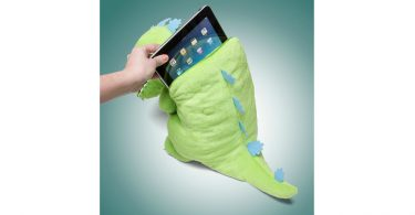 Reptar Backpack With Ipad in it