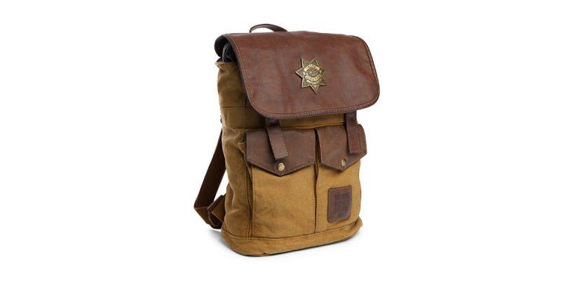 Rick Grimes Walking Dead Backpack - Front