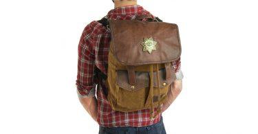 Rick Grimes Walking Dead Backpack - Wearing