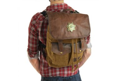 Rick Grimes Walking Dead Backpack - Wearing