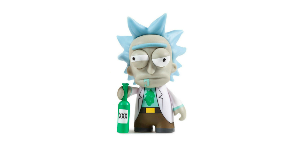 Rick and Morty Vinyl Rick Stand Alone