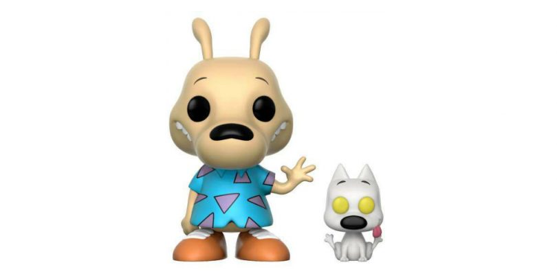 Rocko's Modern Life Rocko and Spunky Funko Pop