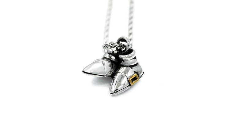 Sonic the Hedgehog Pendant Necklace