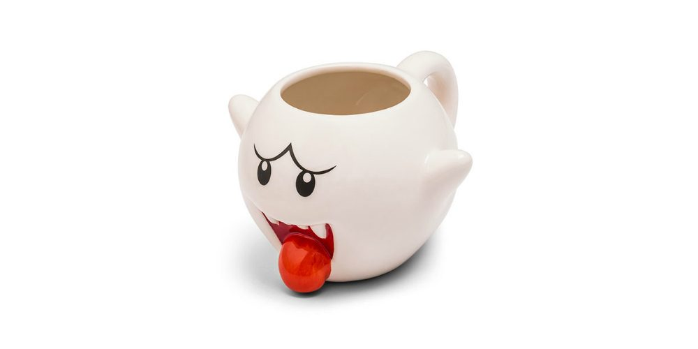 Super Mario Ceramic Boo Mug