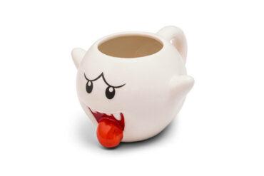 Super Mario Ceramic Boo Mug