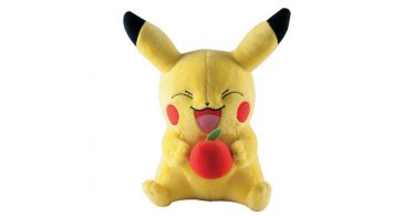 Pikachu Pokemon Apple Plush