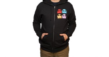 I AINT AFRAID OF NO GHOSTS - PACMAN HOODIE