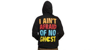 I Aint Afraid of No Ghost - Pacman Hoodie (Back)