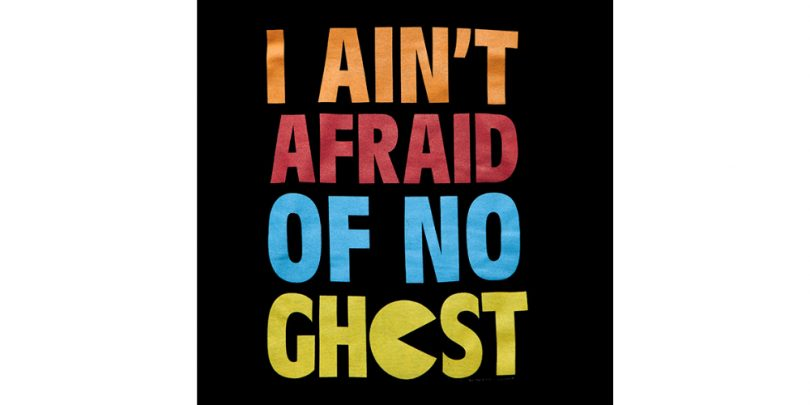 I Aint Afraid of No Ghost - Pacman Hoodie (Writing)