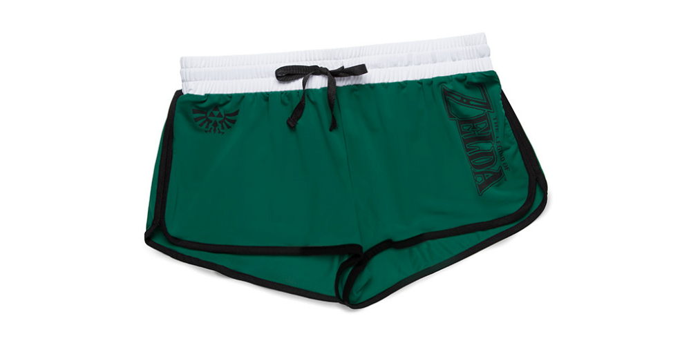 Legend of Zelda Ladies' Nylon_Spandex Shorts