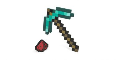 Minecraft Pickaxe Replica