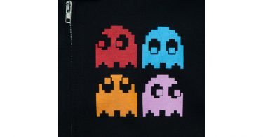 Pacman Hoodie Ghost Close-up
