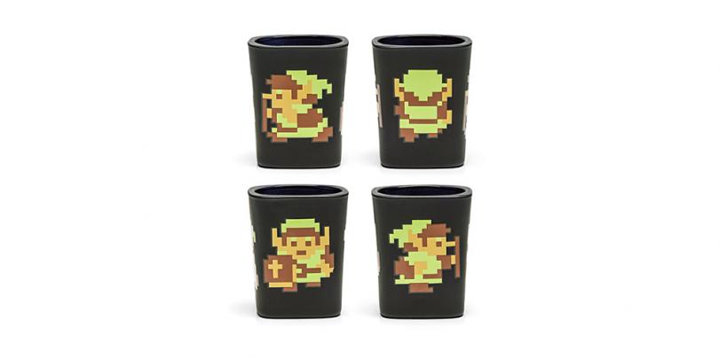 Legend of Zelda 8 Bit Shot Glass