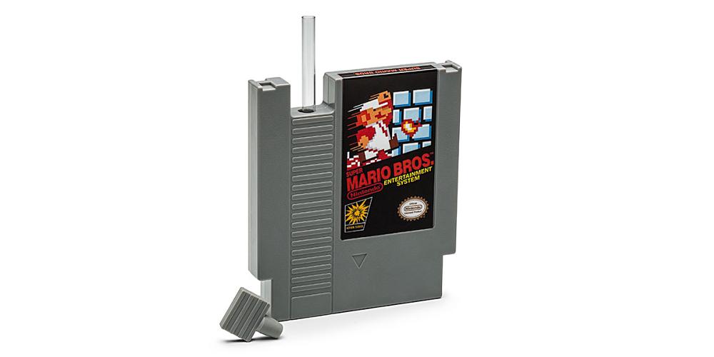 Super Mario Bros Flask