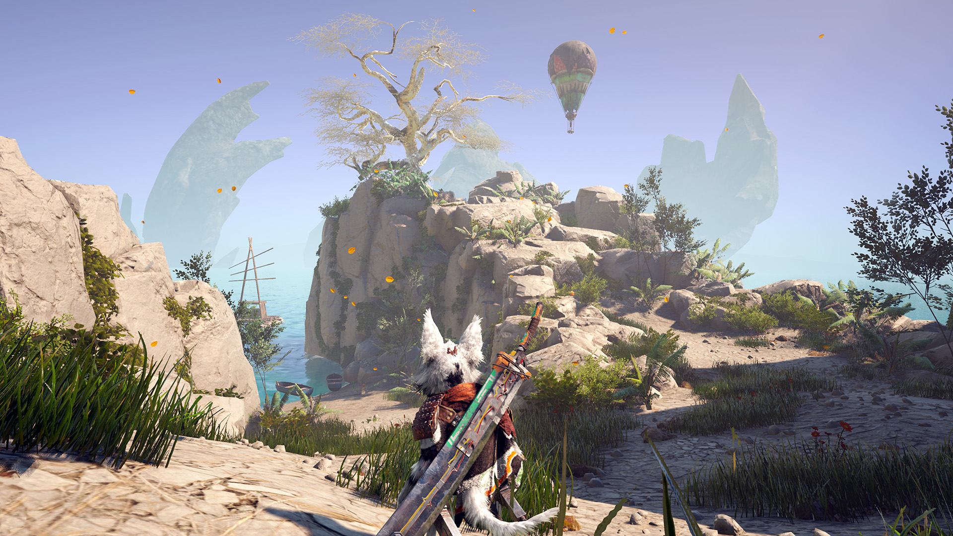 Biomutant scenery screenshot