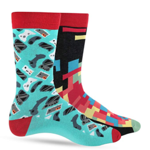 Luther Pike Gamer Socks 2 pack