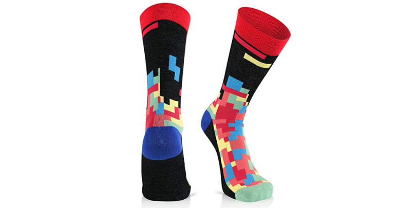 Luther Pike Gamer Socks Tetris Black