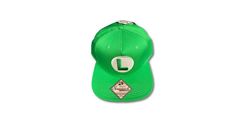 Super Mario Bros Luigi Snapback Top