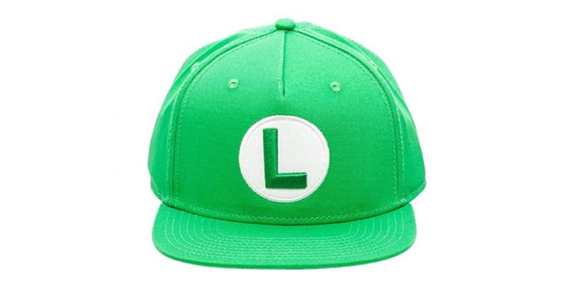Super Mario Bros Luigi Snapback front