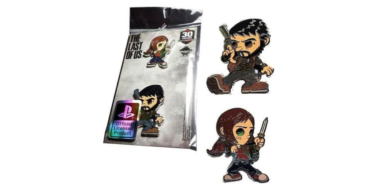 The Last of Us Ellie and Joel Pins