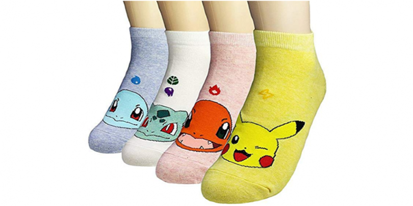 Women Novelty Low Cut Pokemon Socks