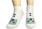 Women Novelty Low Cut Pokemon Sock Bulbasaur
