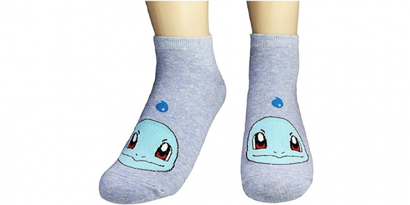 Women Novelty Low Cut Pokemon Sock Squirtle