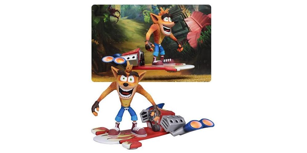 Crash Bandicoot Hover Board Figure