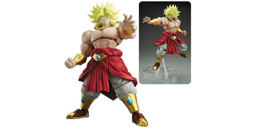 Dragon Ball Z Legendary Super Saiyan Broly Figure Kit