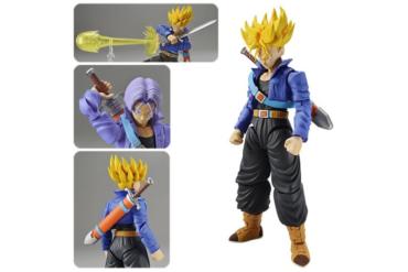Dragon Ball Z Super Saiyan Trunks Figure-rise Standard Model Kit