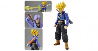 Dragon Ball Z Super Saiyan Trunks Figure-rise Standard Model Kit