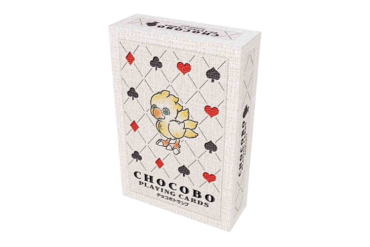 Final Fantasy Chocobo Play Cards