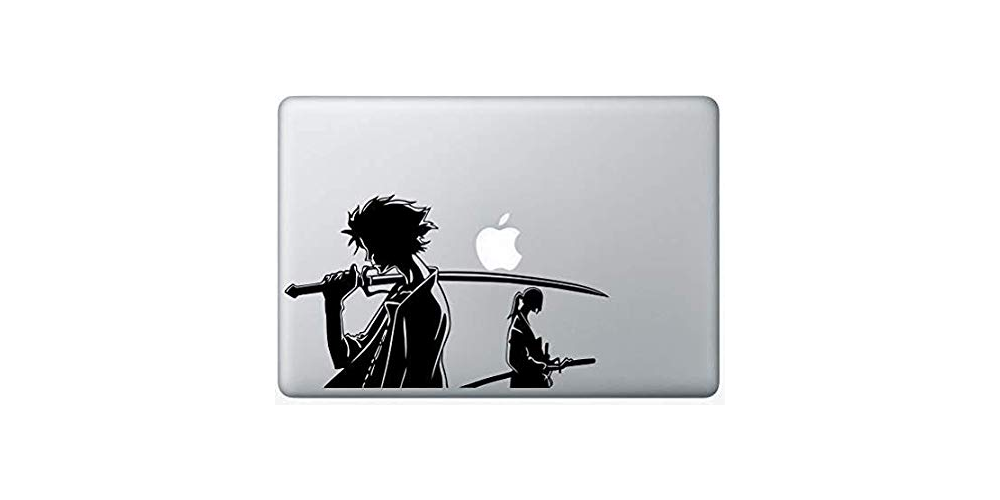 Samurai Champloo Anime MacBook Vinyl Decal Laptop Skin Sticker