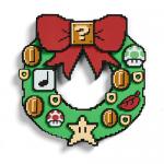 Nintendo Super Mario Bros. Holiday Light-Up Wreath