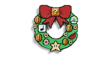 Super Mario Light Up Wreath