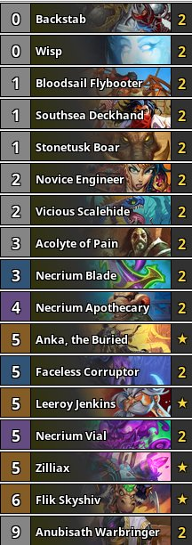 Deathrattle Rogue