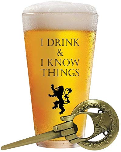 Game of Thrones beer glass