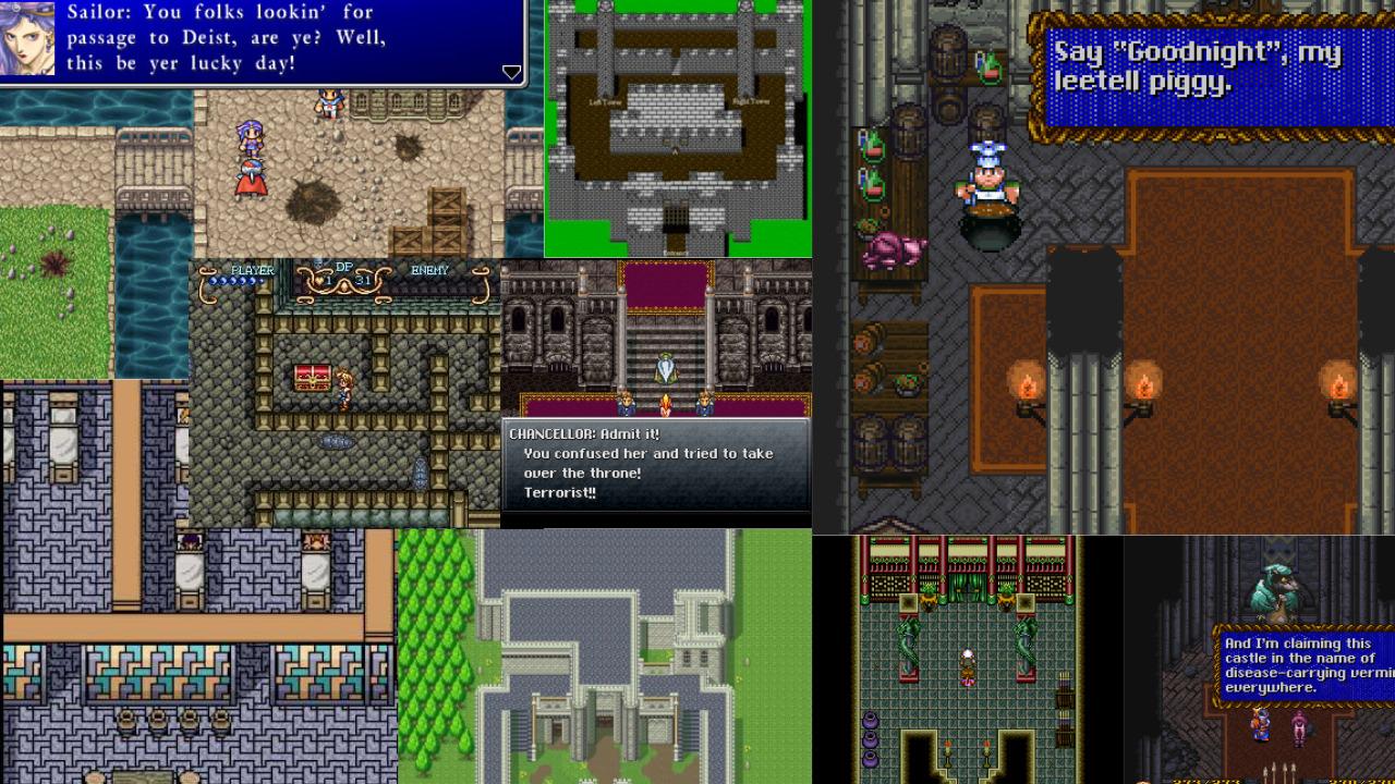 mish-mosh of SNES RPGs