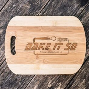 Star Trek cutting board